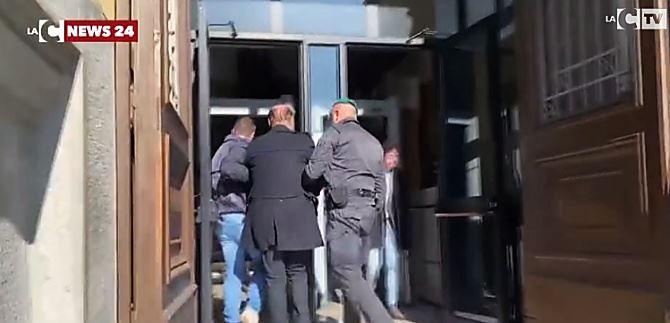 L'arresto del giudice Petrini