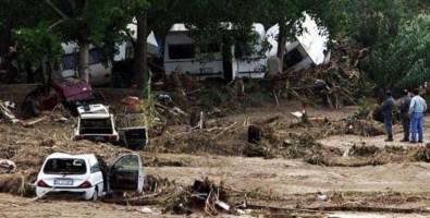 Il camping Le giare distrutto dall'alluvione