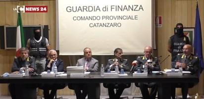 La conferenza stampa dell'operazione Imponimento