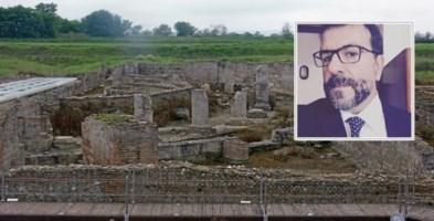 Parco archeologico di Sibari. Nel riquadro, il nuovo direttore Filippo Demma