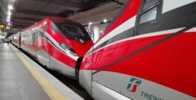 Treni Frecciarossa (foto ansa)