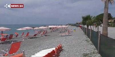 La spiaggia di Gizzeria