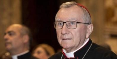 Il segretario di Stato vaticano, Pietro Parolin