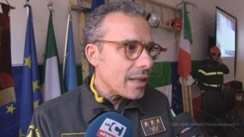 L'ex comandante del vigili del fuoco di Cosenza Massimo Cundari