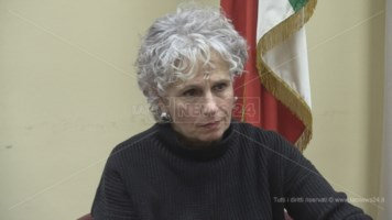 Il commissario straordinario dell'Asp di Cosenza, Cinzia Bettellini