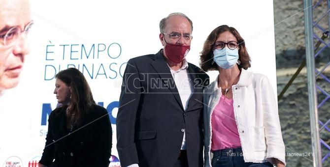 Mariastella Gelmini con Nino Minicuci