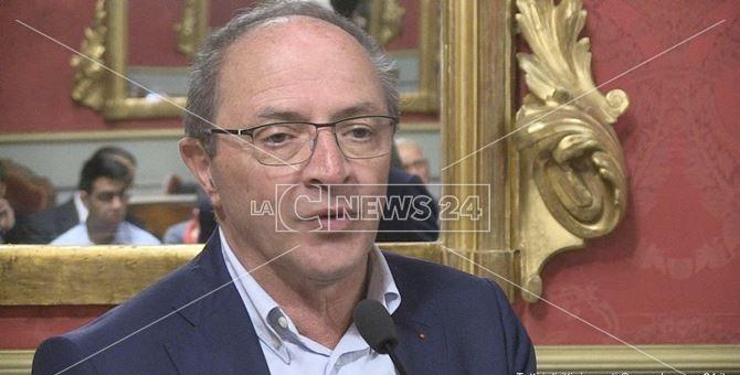 Il presidente della Provincia di Cosenza, Franco Iacucci
