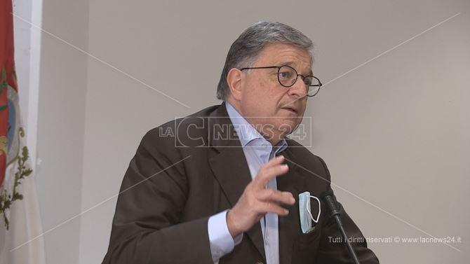 Il sindaco di Montalto Uffugo Pietro Caracciolo