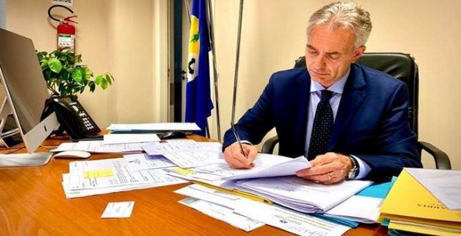 L'assessore Gallo, foto dal sito della Regione Calabria
