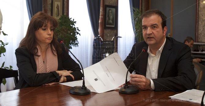 Martina Hauser e Mario Occhiuto