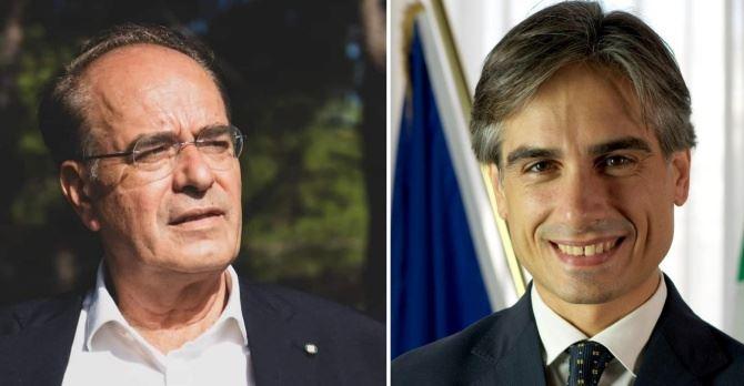 Antonino Minicuci e Giuseppe Falcomatà