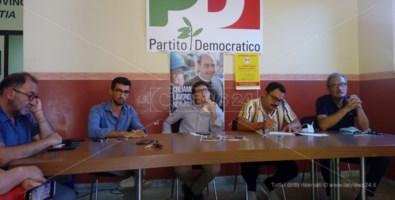 Sanità e lavoro a Vibo Valentia, il Pd prepara «l'autunno caldo» del sindaco Limardo