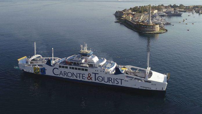 Una della navi Caronte e Tourist (foto dal sito della compagnia)