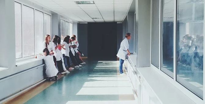 Interno d'ospedale - foto di repertorio