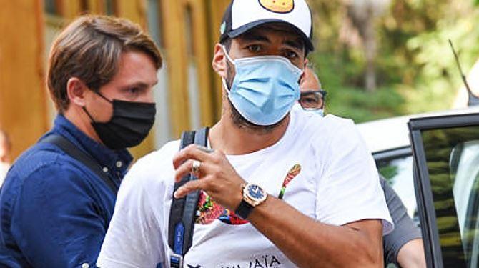 Il calciatore Suarez, foto ansa