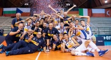 L'Italia Under 18 di volley campione d'Europa