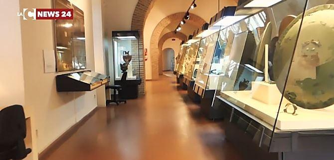 Interno museo Vibo - immagini di repertorio