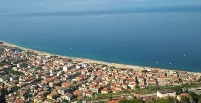 Veduta sulla frazione Marina di Nicotera
