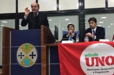 Bersani e Stumpo a Reggio chiudono al Pd e proseguono la campagna acquisti (VIDEO)