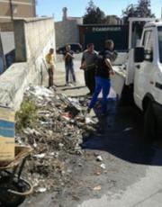 Reggio Calabria, attività di pulizia