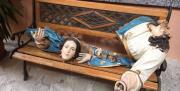 La statua della Madonna si spezza durante l'Affrontata: shock nel Vibonese (VIDEO)