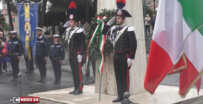 La commemorazione di Caruso e Condello del 2017