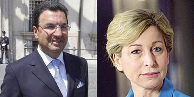 Tonino Gentile e Dorina Bianchi
