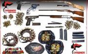 Reggio, rinvenuto arsenale in una casa disabitata VIDEO