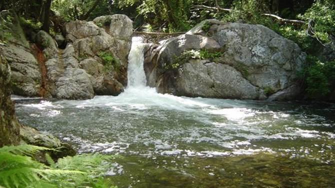 Le cascate nella Riserva regionale delle Valli Cupe