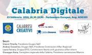 Le eccellenze digitali calabresi al centro di un seminario al Parlamento Europeo di Bruxelles