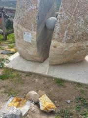 Danneggiato monumento in onore di Lea Garofalo