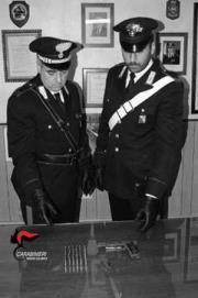 In un foro del muro armi e munizioni: un arresto nel Reggino