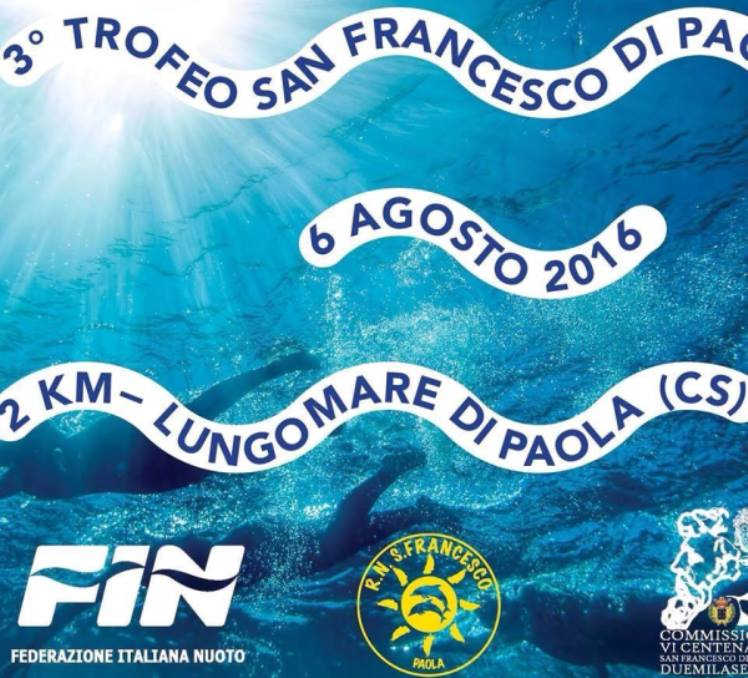 Fin Nuoto Calendario Gare.A Paola Tutto Pronto Per Il Terzo Trofeo San Francesco Di Paola