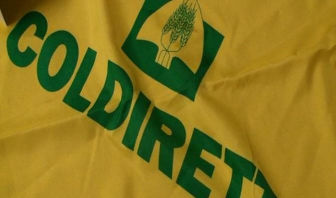 Una bandiera di Coldiretti