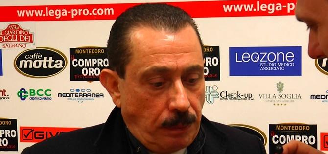 Giuseppe Cosentino,presidente del Catanzaro calcio
