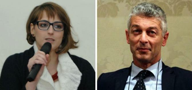 Dalila Nesci e Nicola Morra