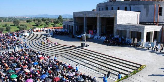 La chiesa di Natuzza a Paravati