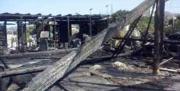 Il lido 'El Caribe' di Melito distrutto dalle fiamme