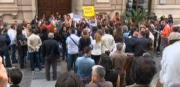 'Zanfini': la protesta alla Cittadella