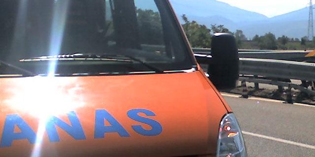 Un furgone Anas