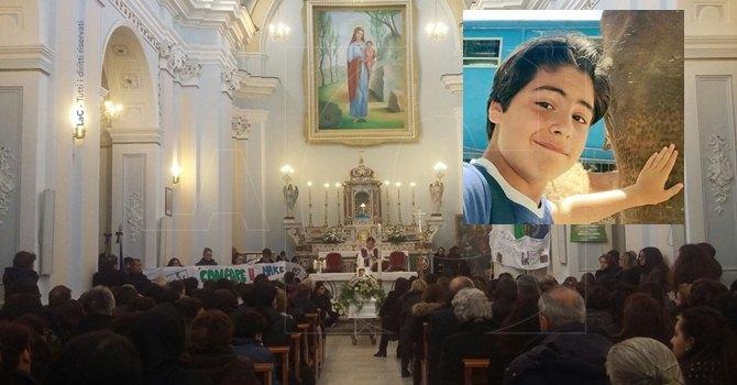 I funerali di Leandro Celia
