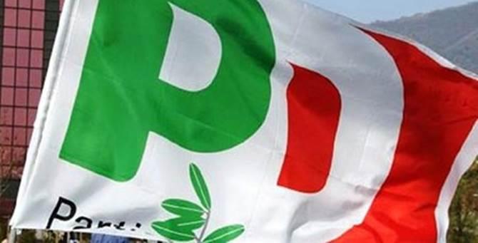 Una bandiera del Pd
