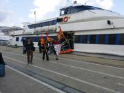 Villa San Giovanni, i precari dei vigili del fuoco bloccano l'accesso ai traghetti