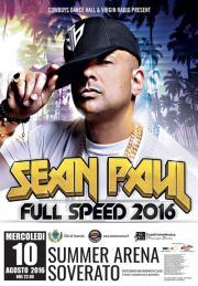 Il rapper giamaicano Sean Paul in concerto in Calabria