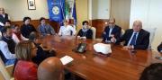 Oliverio e Viscomi hanno incontrato i lavoratori della Fondazione 'Terina'
