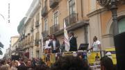 Lamezia, bagno di folla per il parlamentare grillino Alessandro Di Battista VIDEO