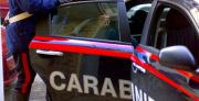 I carabinieri arrestano un uomo