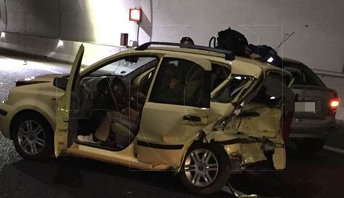 L'incidente sull'A2