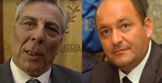 Paolo Romeo e Antonio Caridi