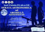 Serata astronomica ad Arghillà